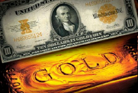 Gold Backing Currency
